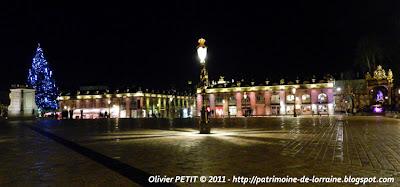 NANCY (54) - Place Stanislas : photos nocturnes de fin d'année 2011