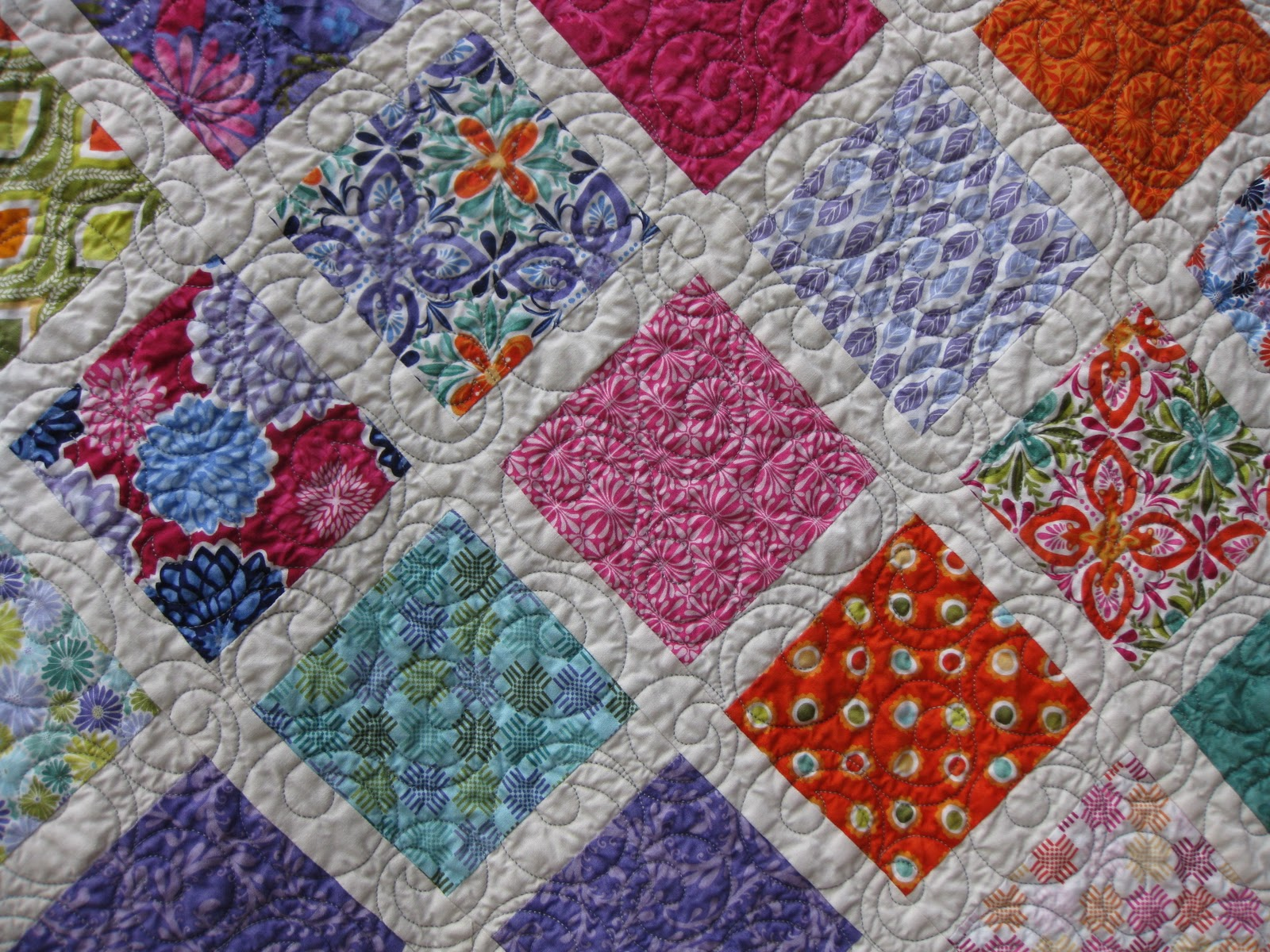 Millie s Quilting: Two Charm Square Quilts