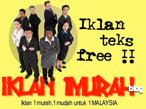 iklan 1 murah / iklan percuma / promosi percuma