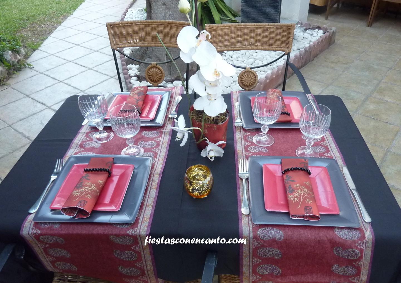 Fiestas Con Encanto Decoracion Mesa Japonesa - Decoracion-mesas-fiestas