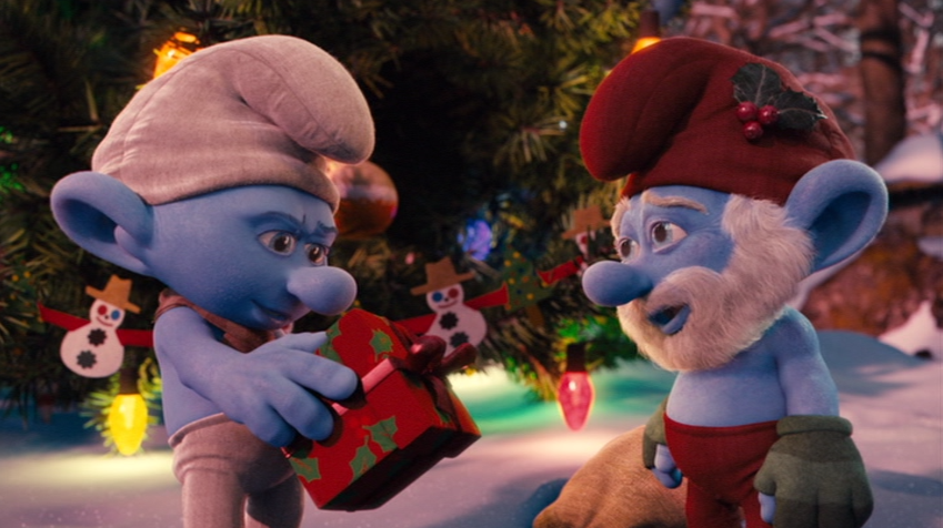 Christmas TV History: The Smurfs: A Christmas Carol (2011)