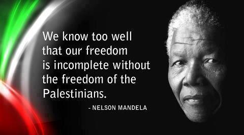 Carta de Mandela  por Palestina
