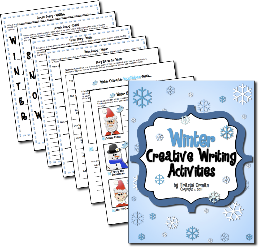 creative writing activities for high school students