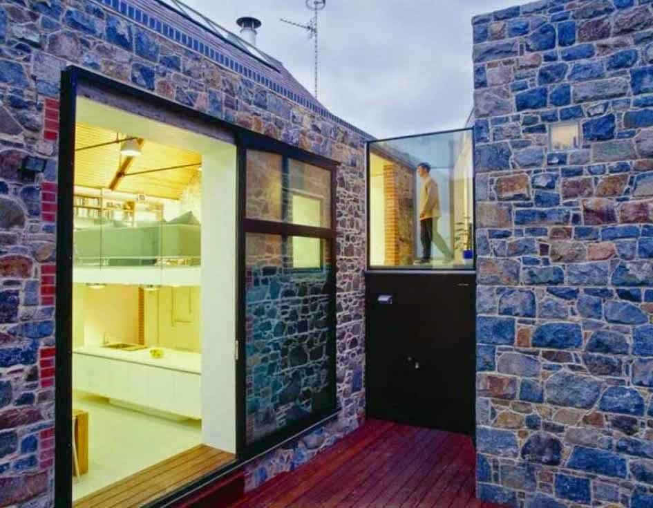 Desain Batu Alam Untuk Tembok Dinding Eksterior Rumah