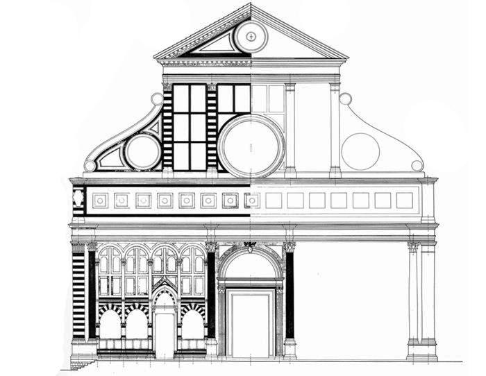 L 39 architettura del quattrocento cinquecento e seicento for Disegno della casa di architettura