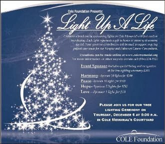 12-5 Light Up A Life At Cole