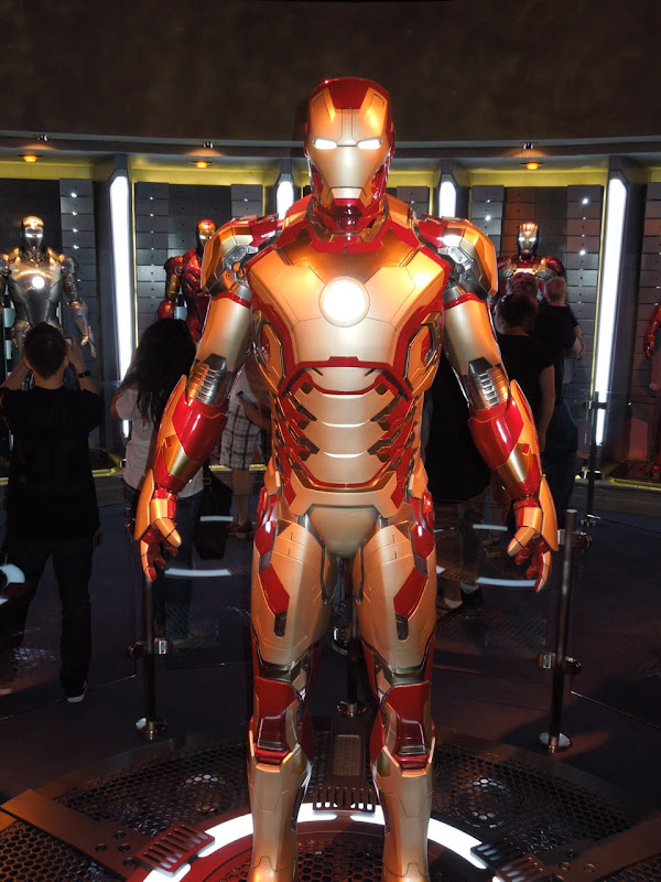 Iron Man 3 Mark XLII suit