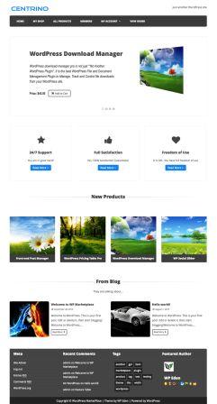 free WordPress eCommerce Theme - Centrino