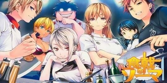Food Wars, Shokugeki no Soma, Weekly Shonen Jump, Tonkam, Tsukuda Yuuto, Saeki Shun,