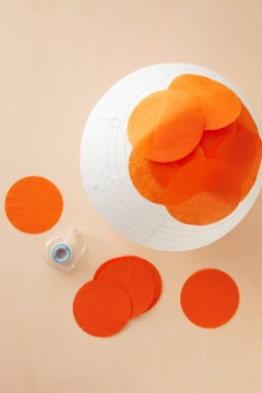 white space is nice space. ♥: diy: paper lanterns, by the ...