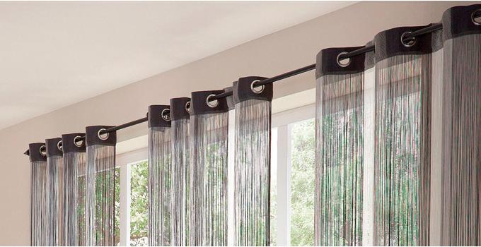 C mo instalar cortinas sin barra bricolaje for Como poner cortinas