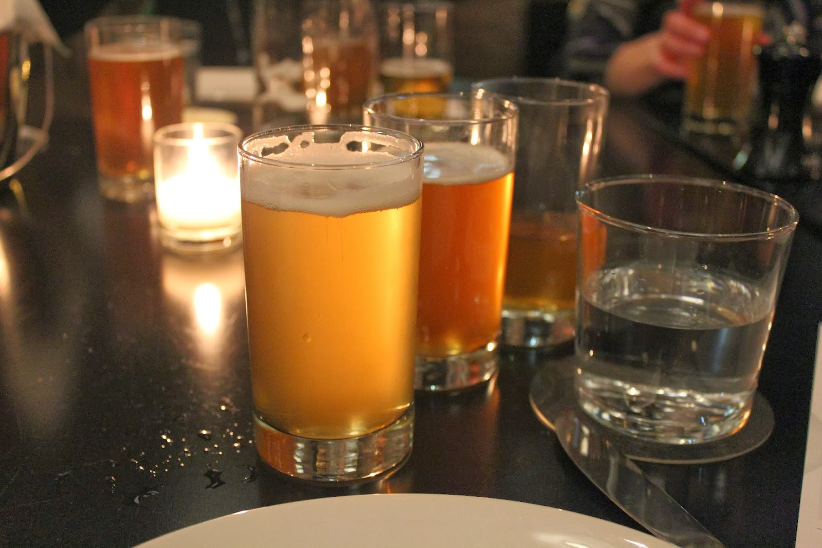 Beer pairings at Row 34