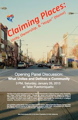 Claiming Places Panel 1