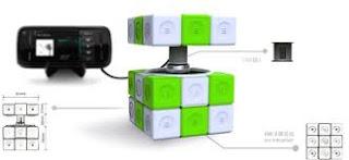 gambar_Charger Rubik's Cube