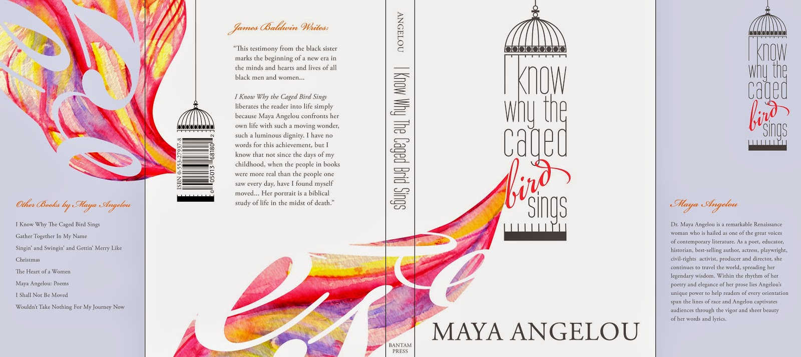 the metaphors and imagery of freedom in i know why the caged bird sings a book by maya angelou Get answers to your i know why the caged bird sings questions from professional tutors at bookragscom.