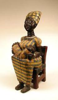 Akan Maternity Figure - Ghana -Mid-late 20th century