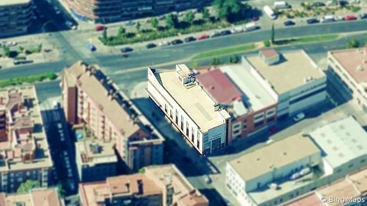 proyecto de edificio comercial en madrid bing maps persianas muñez