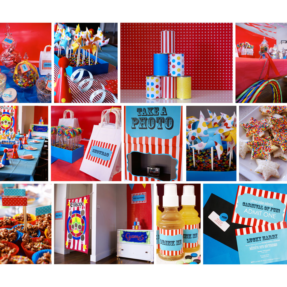 The Cutest Party On The Block: Carnival Inspiration