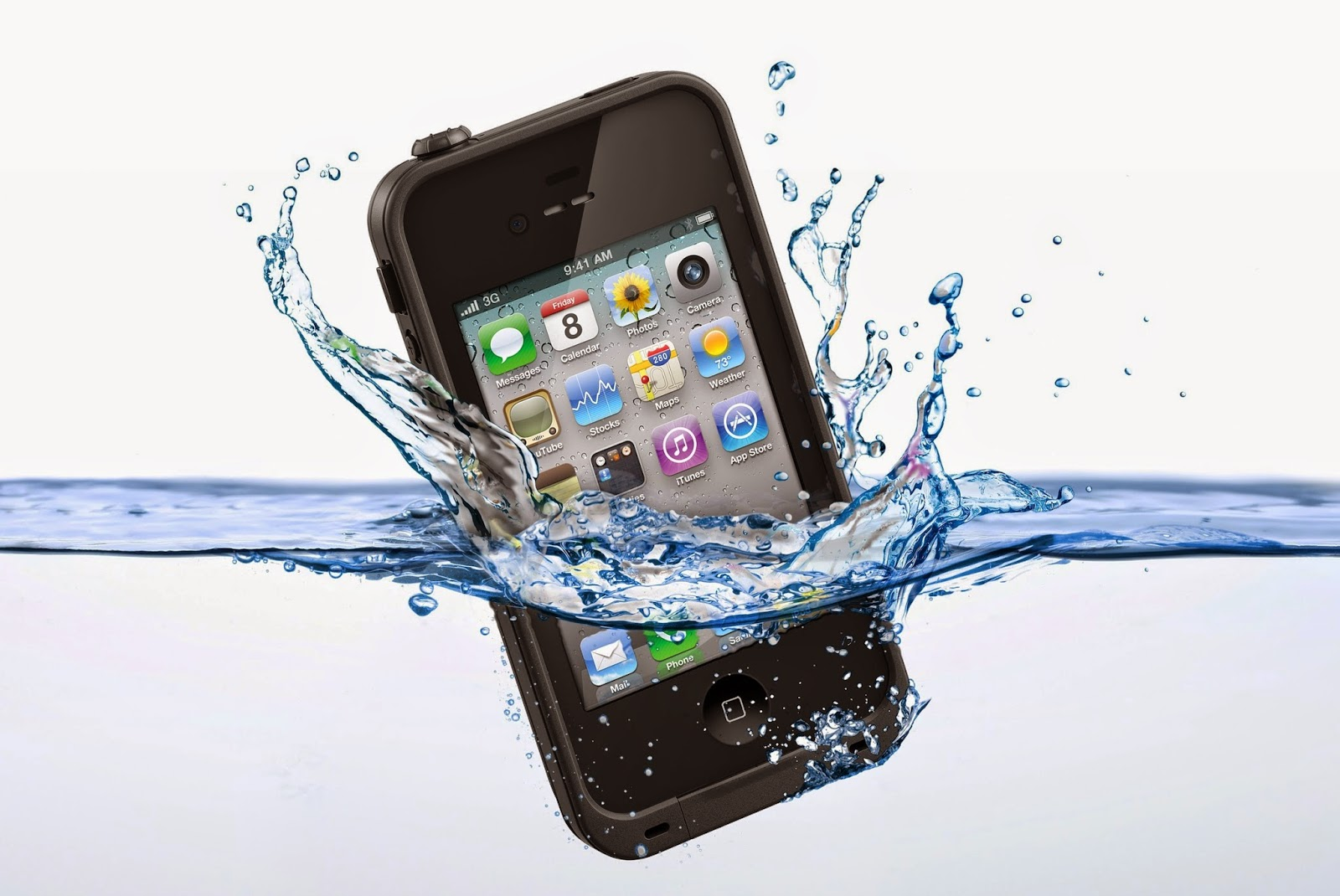 The iPhone waterproof phone concept