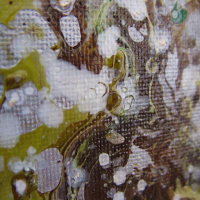 Detail of 'Lichen' by Elizabeth O'Connor