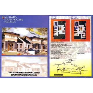 Rumah DIJUAL di pondok cabe, Mutiara Pondok Cabe