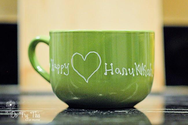 Chanukah Hanukkah mug gift idea