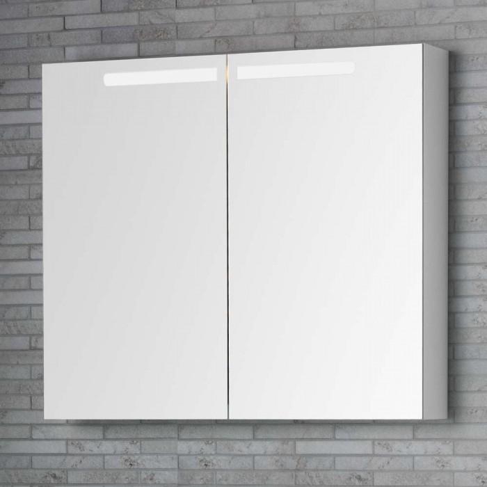 Unterschiedlich Spiegelschrank mit beleuchtung 80 cm breit | Hause Dekoration Ideen KG16