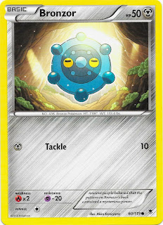 Bronzor Phantom Forces Pokemon Card