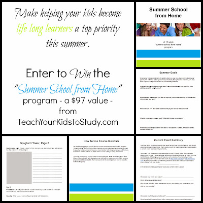 Enter the Summer School from Home Giveaway. Ends 6/17