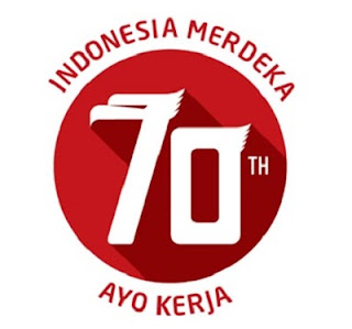 logo 70 Tahun Indonesia Merdeka