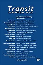 Transit - Ευρωπαϊκή Επιθεώρηση (Βιέννη) - τεύχος 50:<br>1989 revisited, ανασκόπηση μιας εποχής