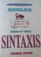 Reglas de Sintaxis