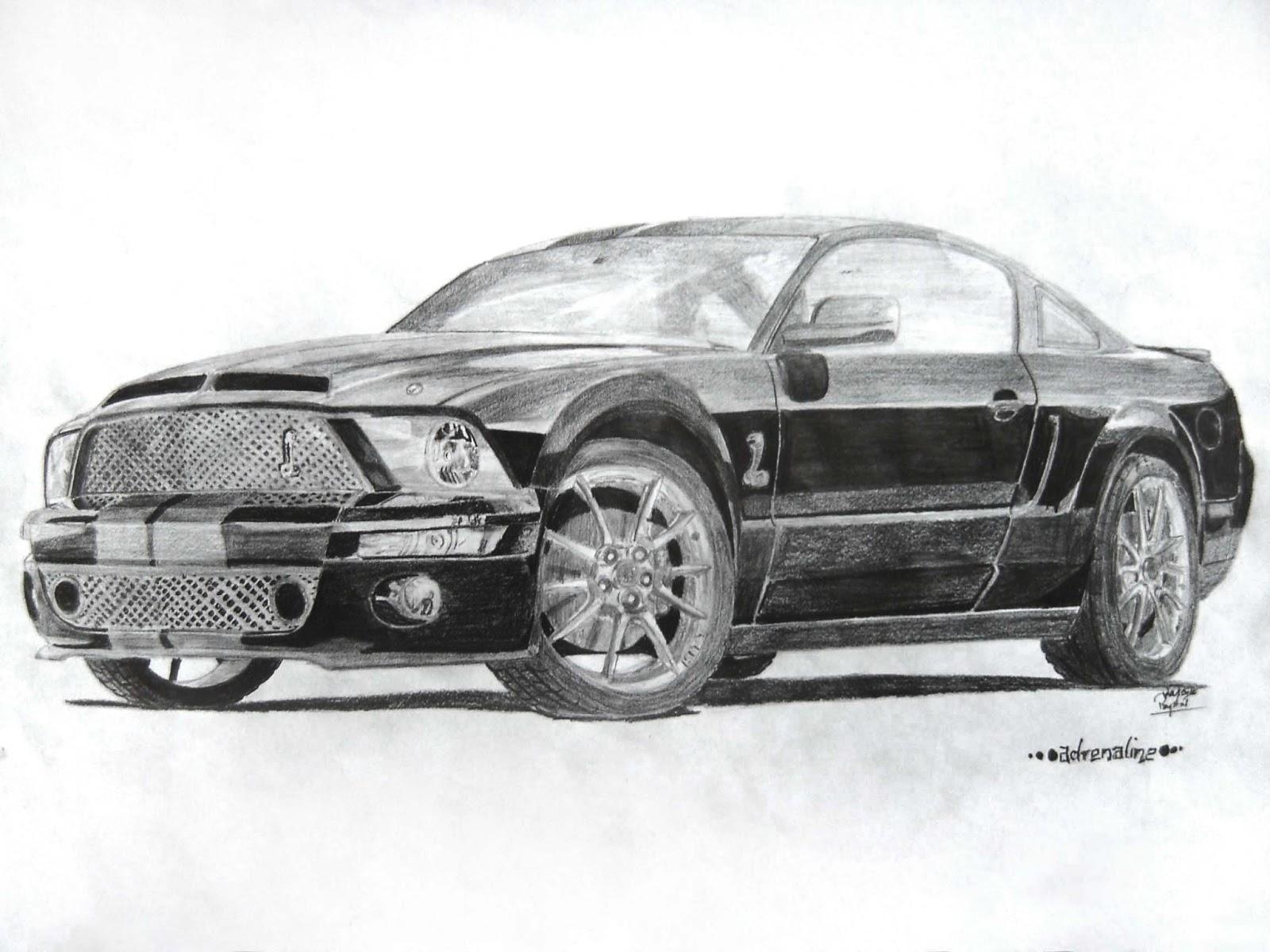 Retrospection Car Sketches Part 1 Mateusz Przystał