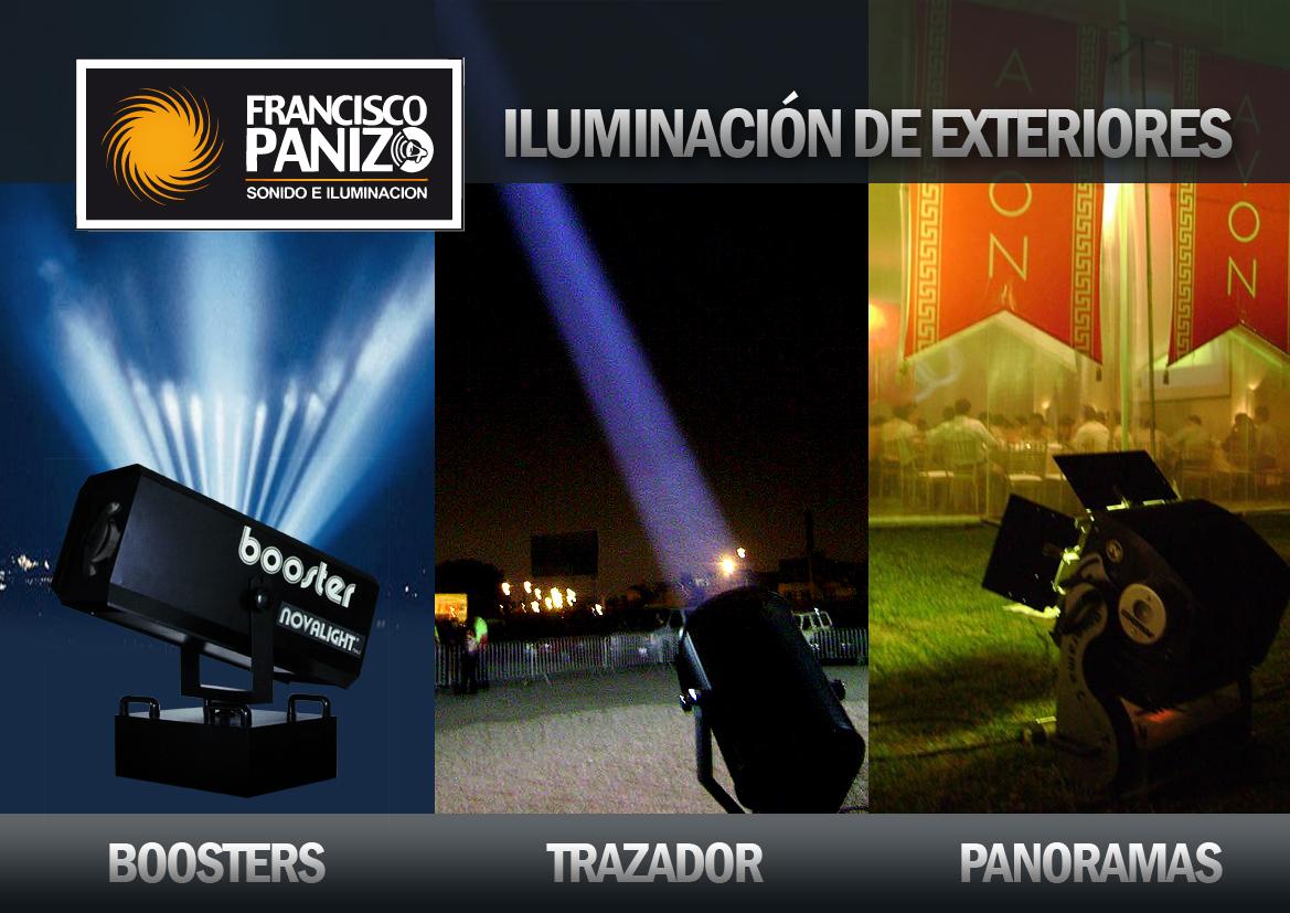Francisco panizo sonido e iluminaci n iluminaci n de for Iluminacion para exteriores