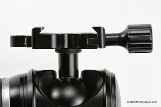 Desmond DAC-X1 Skeleton QR Clamp jaws view