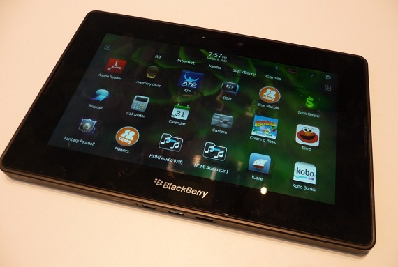 The best tablet (No.9) BlackBerry tablet 2014