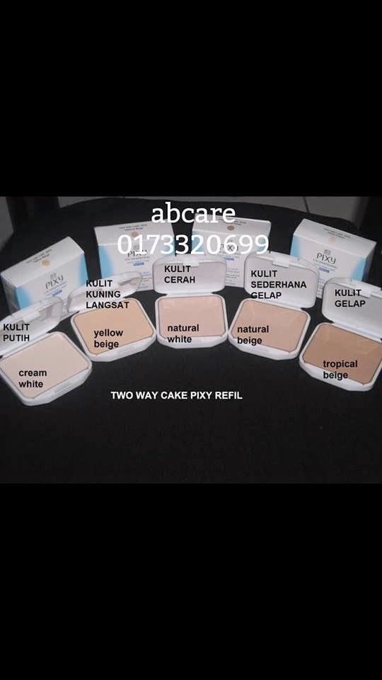 Ageless Beauty Care Bedak Pixy Two Way Cake