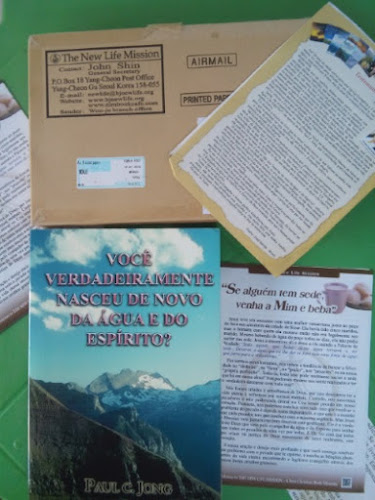 Brinde Recebido: Livro Cristão de Paul C. Jong