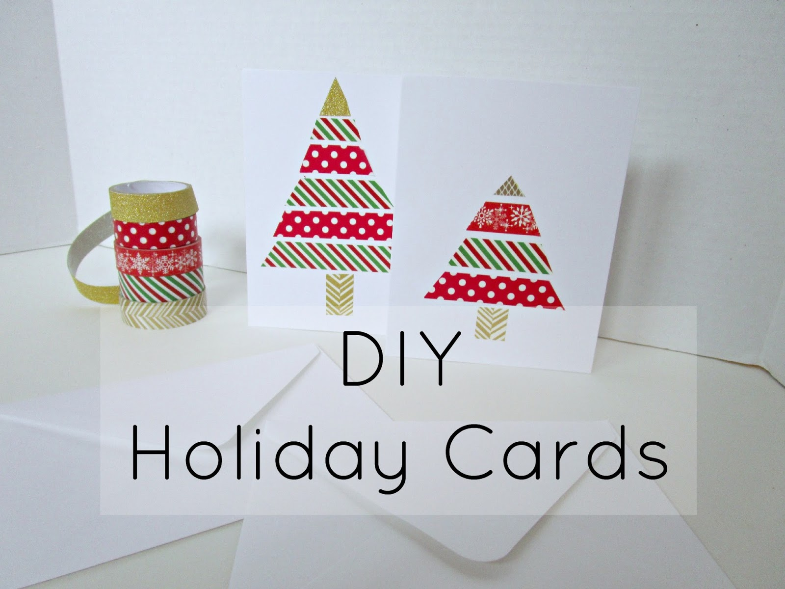 Courtney\'s Little Things: DIY Holiday Cards