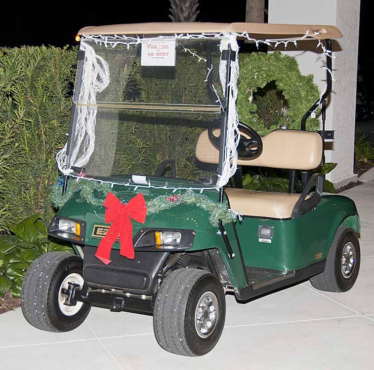 Happenings at florida grande a christmas parade for Florida grande motor coach resort
