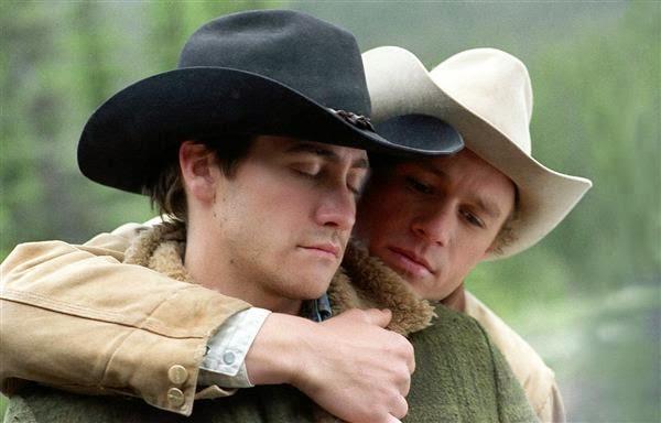 Heath Ledger and Jake Gyllenhaal in Brokeback Mountain
