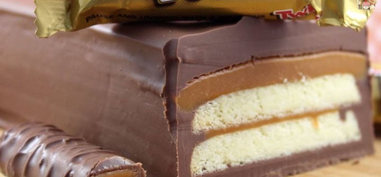 How to Make a Three-Ingredient Giant Twix Bar