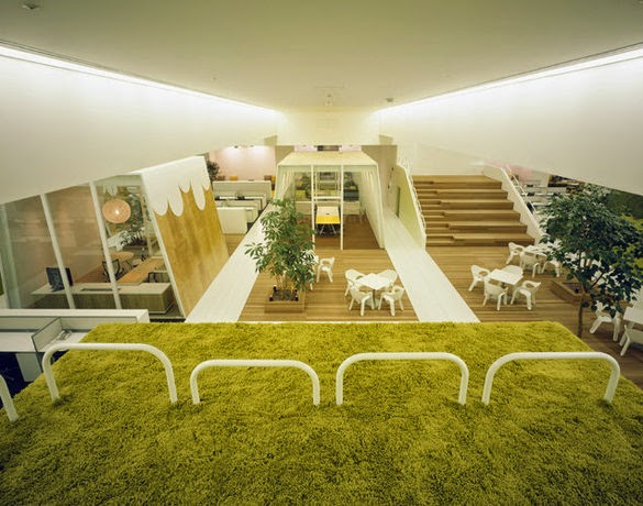HAKUHODO Office Interior Design Ideas 3