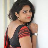 Sitara Hot Photos in Saree at Gundello Guchi Guchi Champake Movie Press Meet 32