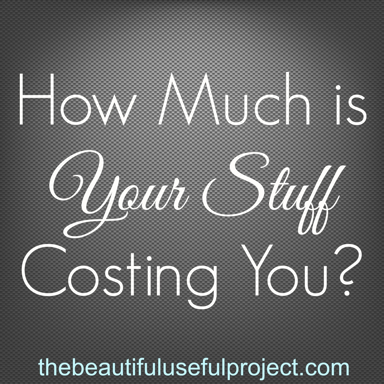 How Much Is Your Clutter Costing You? Declutter. Save Money.