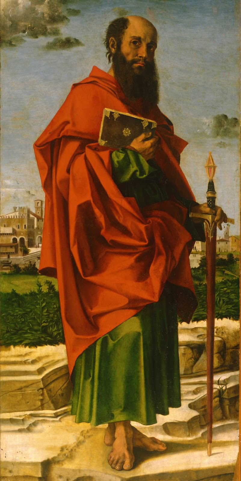 Saint Paul of Tarsus Painting