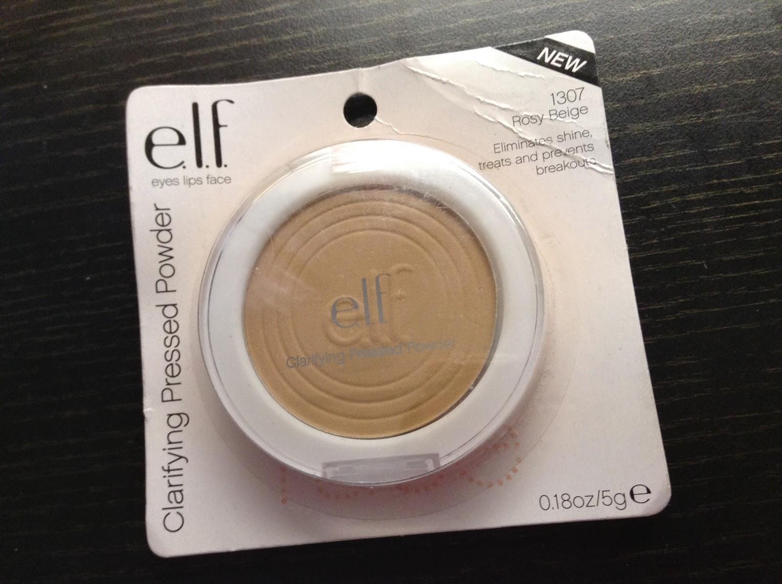 >> 美國紐約平價開架品牌 Eyes Lips Face e.l.f. Clarifying Pressed Powder