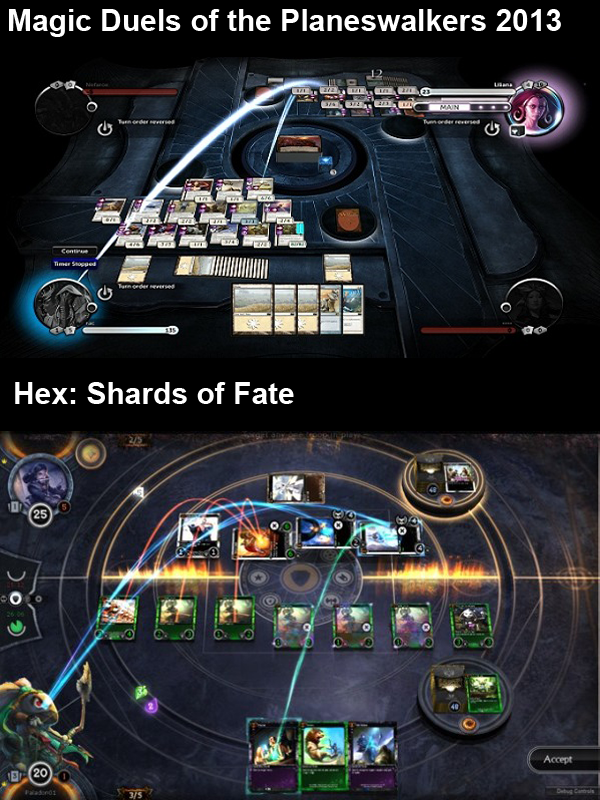 Polyhedron Collider Magic the gathering Hex shards of fate lawsuit comparison