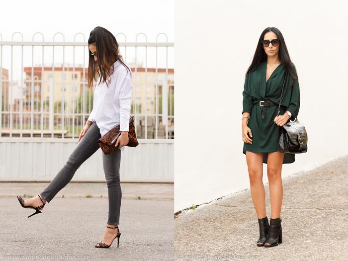 outfits estilosos  con zapatos bonitos de la BLogger de moda valenciana withorwithoutshoes