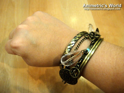 Bracelets from Pinkbox